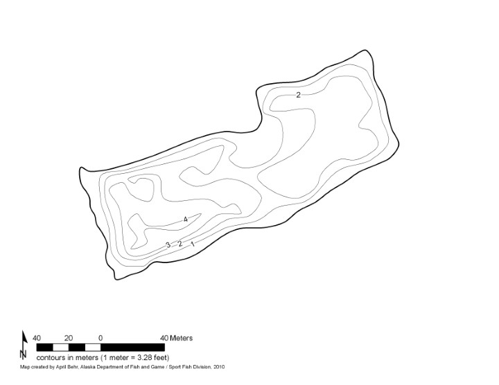 Bathymetric Map of Steese Hwy 34.6