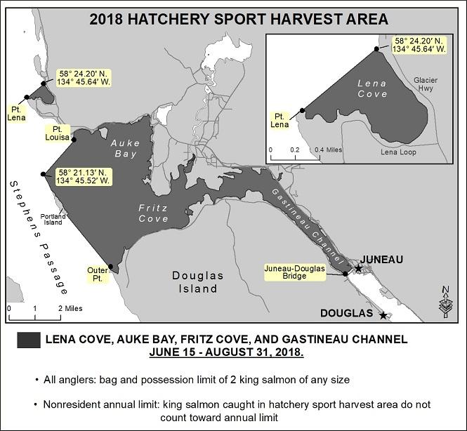 Sport Fishing For King Salmon Opens In Hatchery Areas Near Juneau