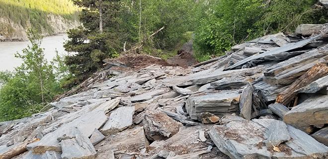 O'Brien Creek to Haley Creek Landslide and Trail Update
