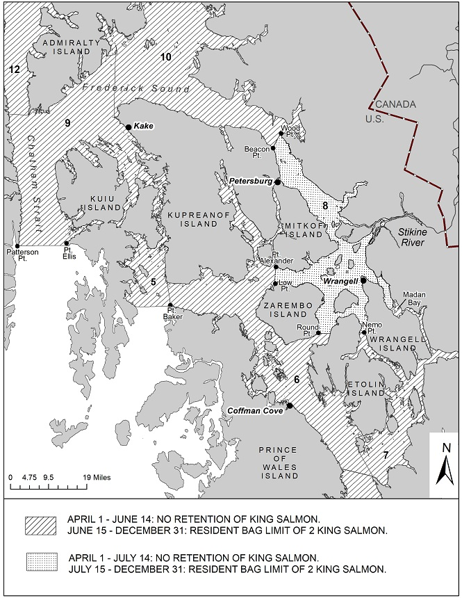 SPORT FISHING REGULATIONS FOR KING SALMON IN SOUTHEAST ALASKA AND THE PETERSBURG/WRANGELL AREA FOR 2020