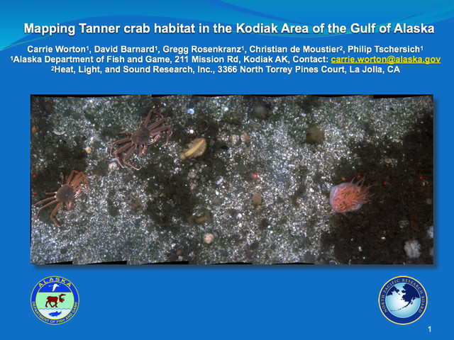 Mapping Tanner Crab Habitat