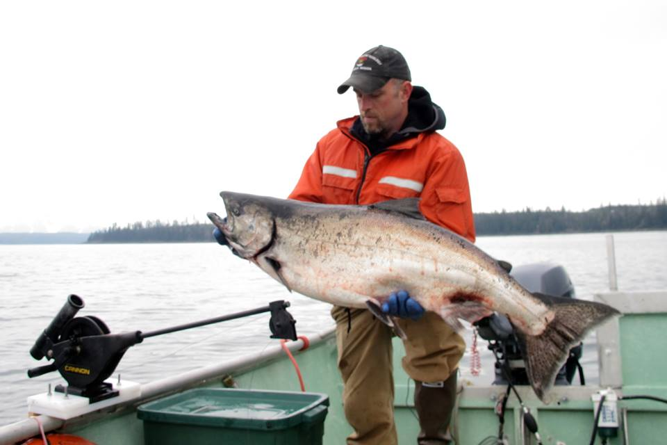 Fishing opportunities alaska department of fish and game for Salmon fishing bay area