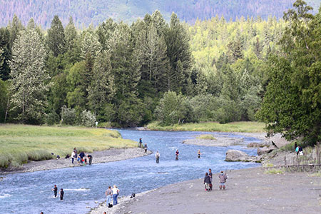 Fishing for Coho Salmon, Alaska Department of Fish and Game
