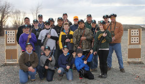 Youth Rimfire League Group Photo