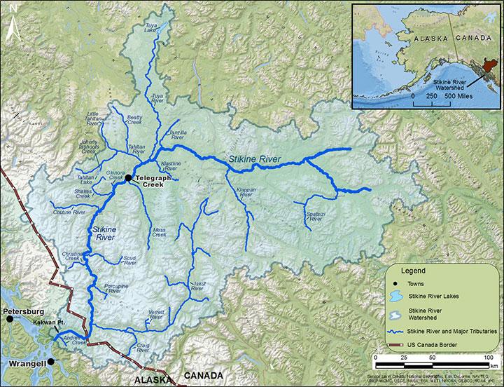 stikine river alaska map Chinook Stock Assessment Research Project Stikine River
