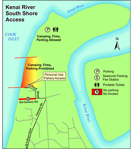 Cook Inlet Personal Use Salmon Fishery Alaska Department of Fish