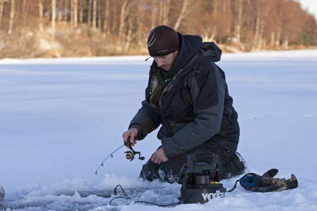 Ice Fishing in Mat-Su