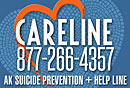 Link to Alaska Careline Suicide Prevention Information and Services