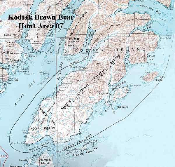 Kodiak Brown Bear Hunting Alaska Department Of Fish And Game