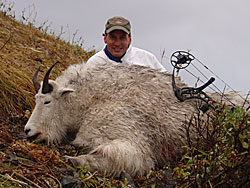Photo of a successful Goat hunter.