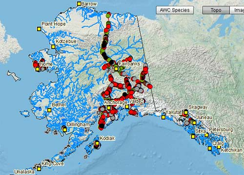 Fish Resource Interactive Mapping Application