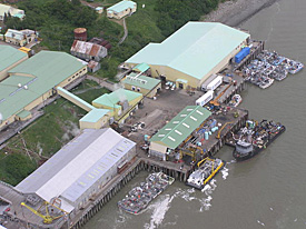 photo of processing plant