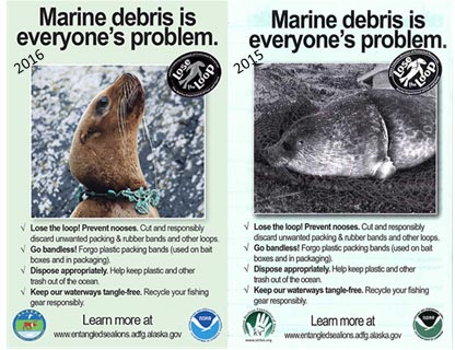 Marine debris is everyone's problem posters