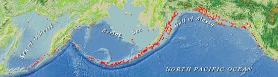 range map of steller sea lion haulouts