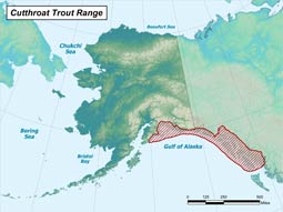 Cutthroat Trout range map
