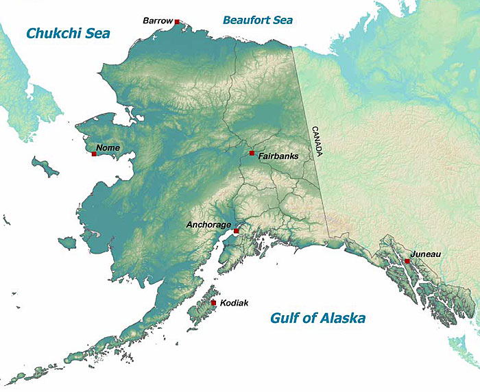 Wildlife Viewing Locations in Alaska Alaska Department of Fish