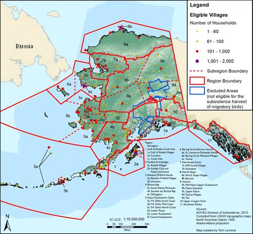 Subsistence Bird And Egg Harvest Estimates Alaska Migratory Bird Co Management Council Alaska Department Of Fish And Game