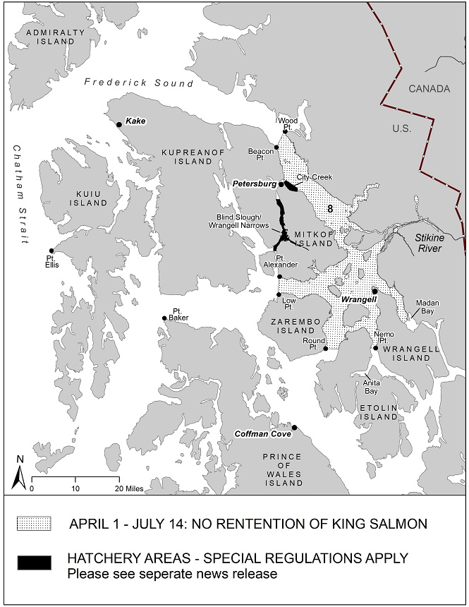 Updated: Sport Fishing Regulations For King Salmon In Southeast Alaska For 2020