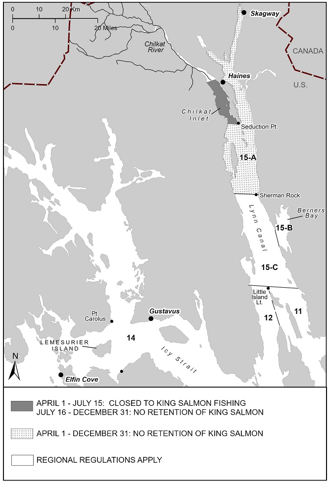 Updated 2020 King Salmon Sport Fishing Regulations In Southeast Alaska, Outside The Hines/Skagway Area