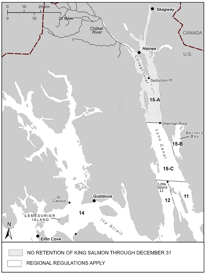 Updated 2020 King Salmon Sport Fishing Regulations In Southeast Alaska, Outside The Haines/Skagway Area