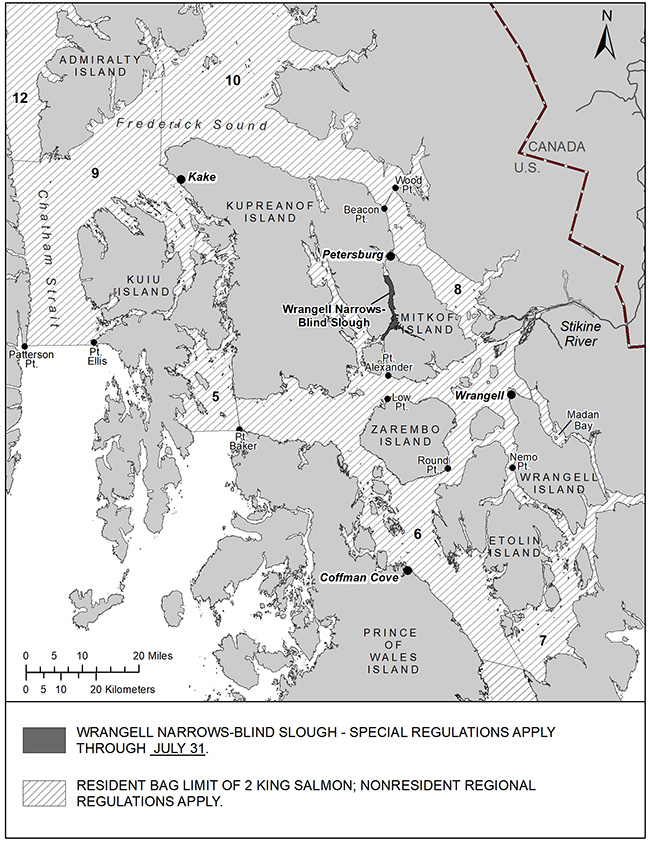 Revised Sport Fishing Regulations For King Salmon In Southeast Alaska And Ketchikan Area For 2021