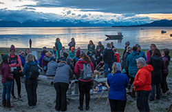 Becoming Outdoors-Woman gathering at Echo Ranch in Juneau