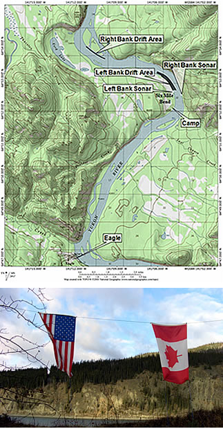 Yukon Eagle Site And River Alaska Fisheries Sonar Alaska Department Of Fish And Game