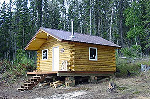 Public use cabins alaska department of fish and game for Alaska log home plans