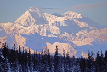 Sunset on Denali