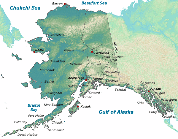 Contact Information by Location, Alaska Department of Fish and Game