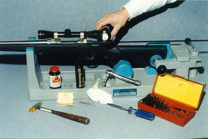 Photo of a Hunting Cleaning Kit