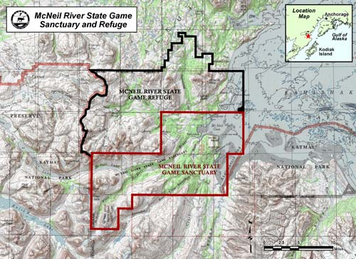 map of McNeil River