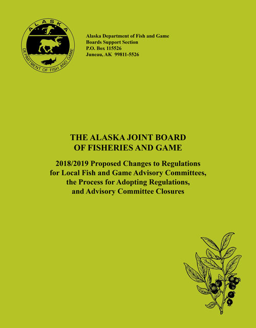 Cover of 2018/2019 Proposal Book