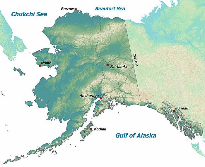 Wildlife Viewing Locations In Alaska Alaska Department Of Fish And Game