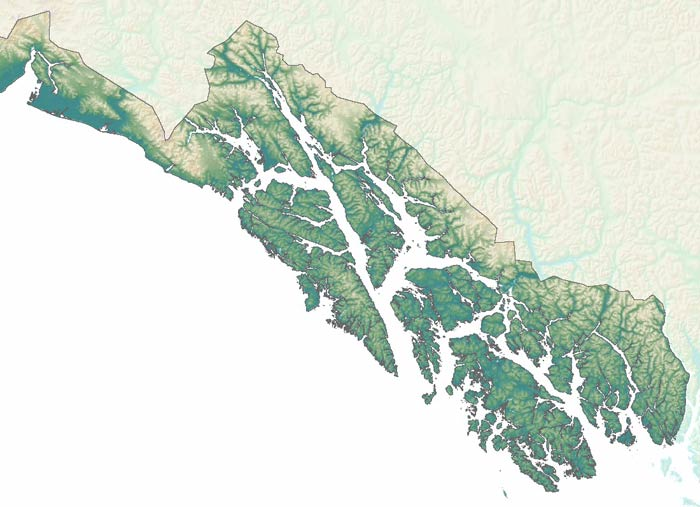Map Of Southeast Alaska Southeast, Alaska Department of Fish and Game Map Of Southeast Alaska